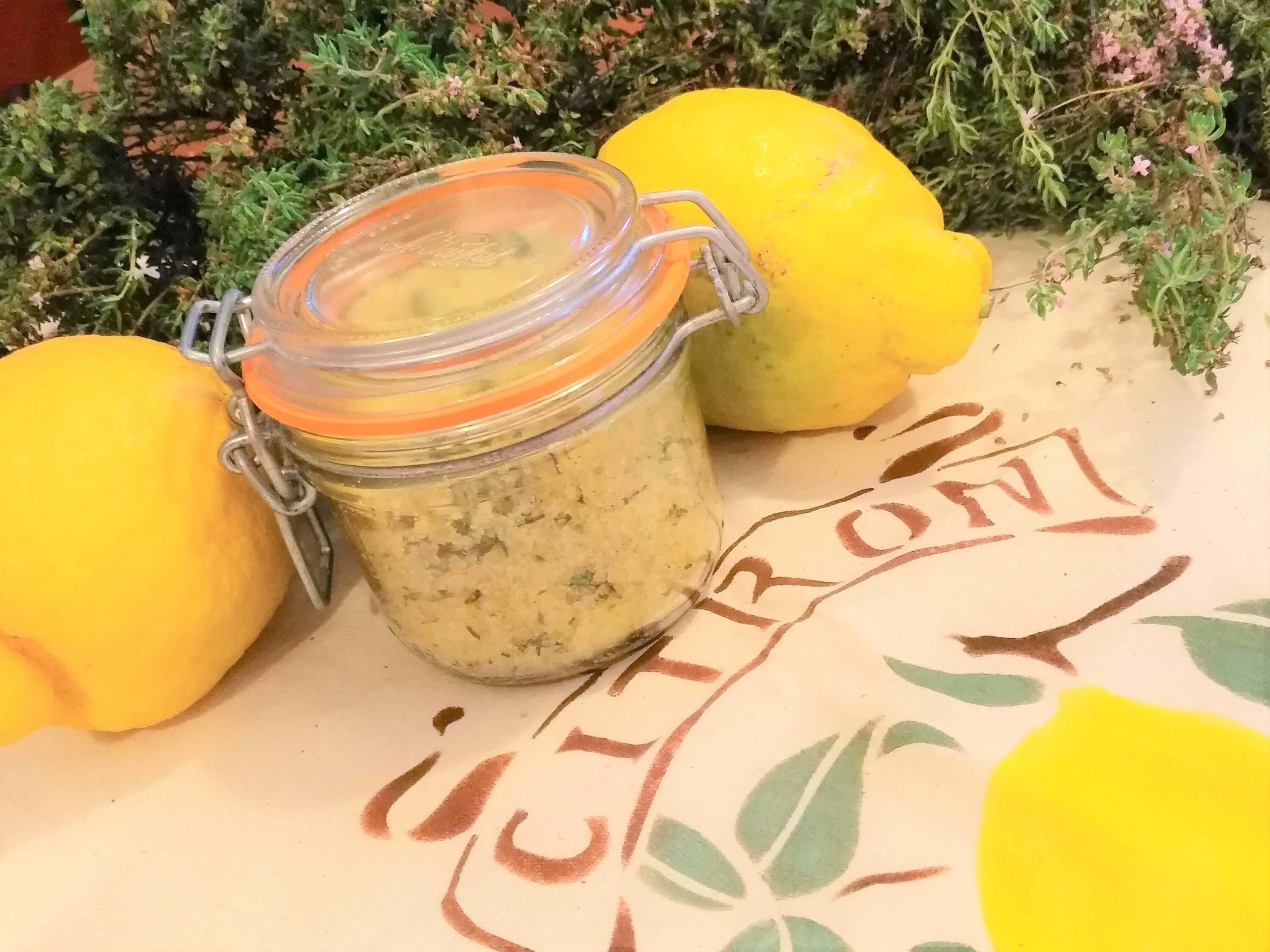 Zitronensalz im Glas Geschenkideen für Frankreichliebhaber