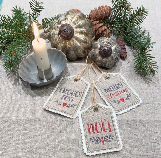Geschenkanhänger Weihnachten