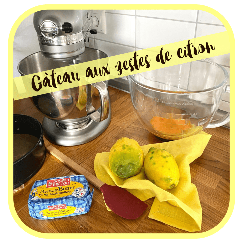Zutaten Cake au citrons