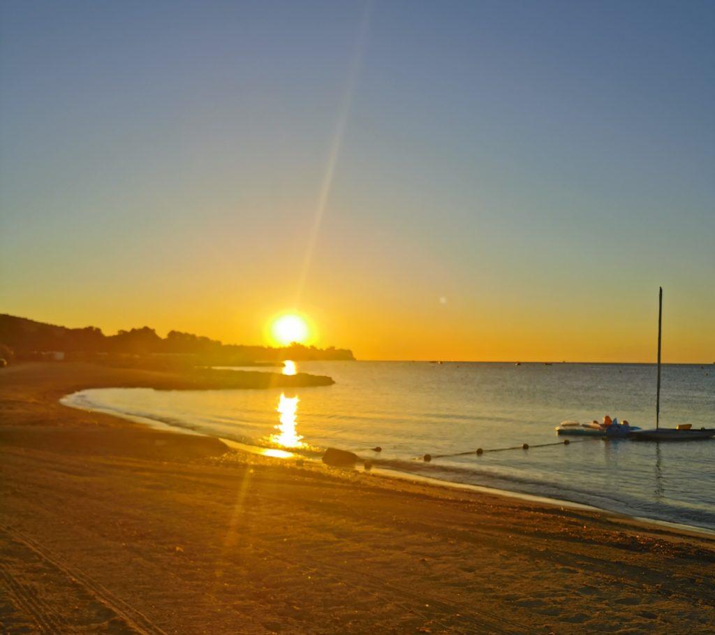 Sonnenaufgag am Meer